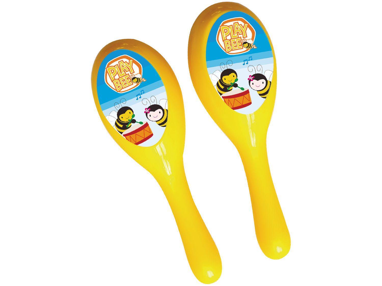 Maracas Infantil 2613 2 Peças - BeeMe Toys