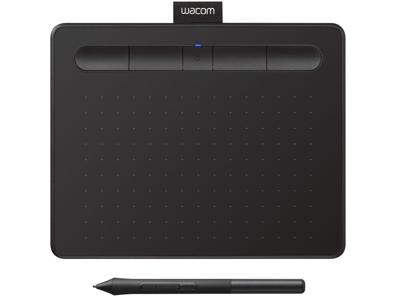 Mesa Digitalizadora Wacom Intuos Pequena - Bluetooth Preta CTL4100W