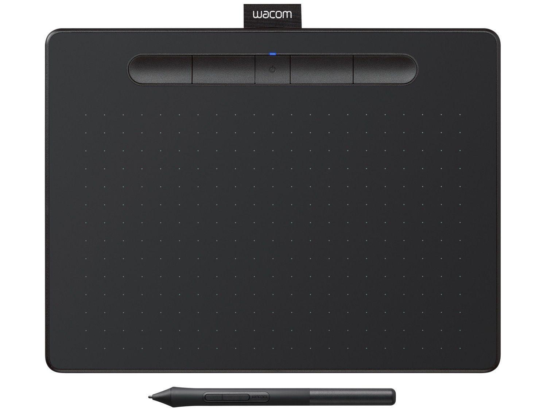 Mesa Digitalizadora Wacom Intuos Média - Bluetooth Preta CTL6100W