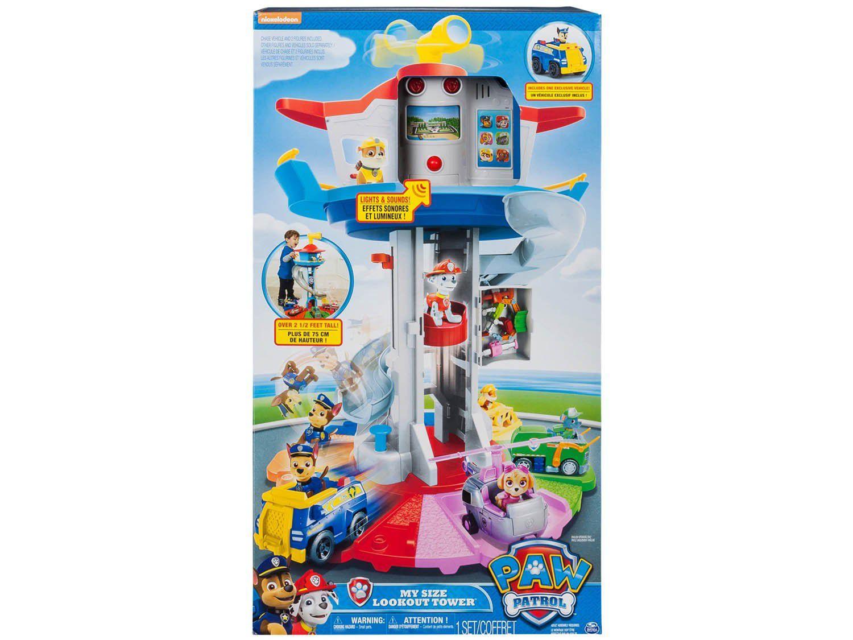 Mega Central de Comando Paw Patrol - com Acessórios Sunny Brinquedos