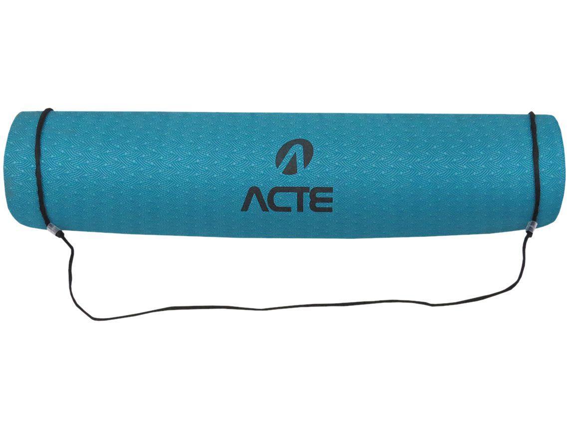 Tapete para Yoga/Pilates TPE 1 Peça Acte Sports - Yoga Mat Master
