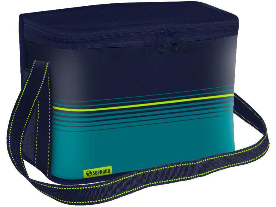 Bolsa Térmica Dobrável 9,5L Azul Soprano - Tropical
