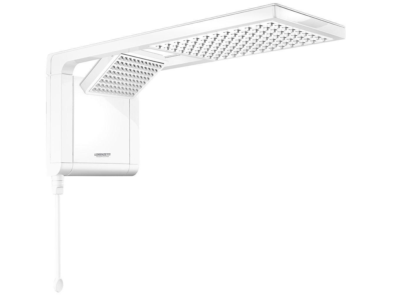 Chuveiro Eletrônico Lorenzetti Ultra Aqua Duo - 7800W Branco Temperatura Gradual