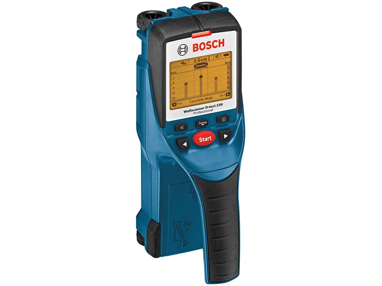 Detector de Materiais Bosch Digital D-TECT 150 - Profissional