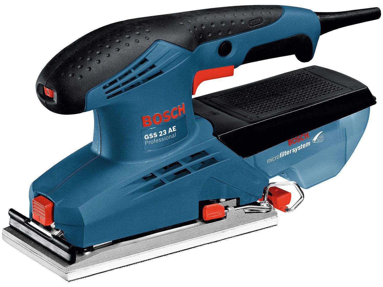Lixadeira Oscilante de Folha Elétrica Bosch - Profissional 190W GSS 23 AE