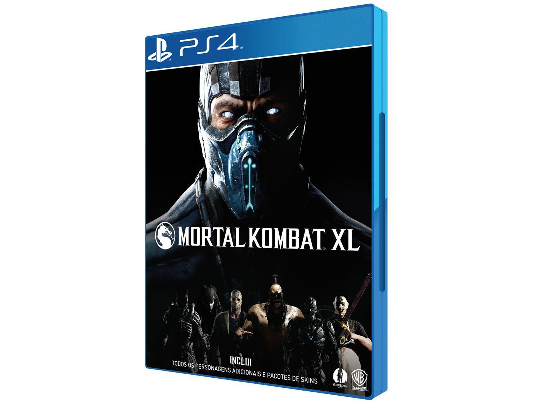 Mortal Kombat XL para PS4 - Warner Games