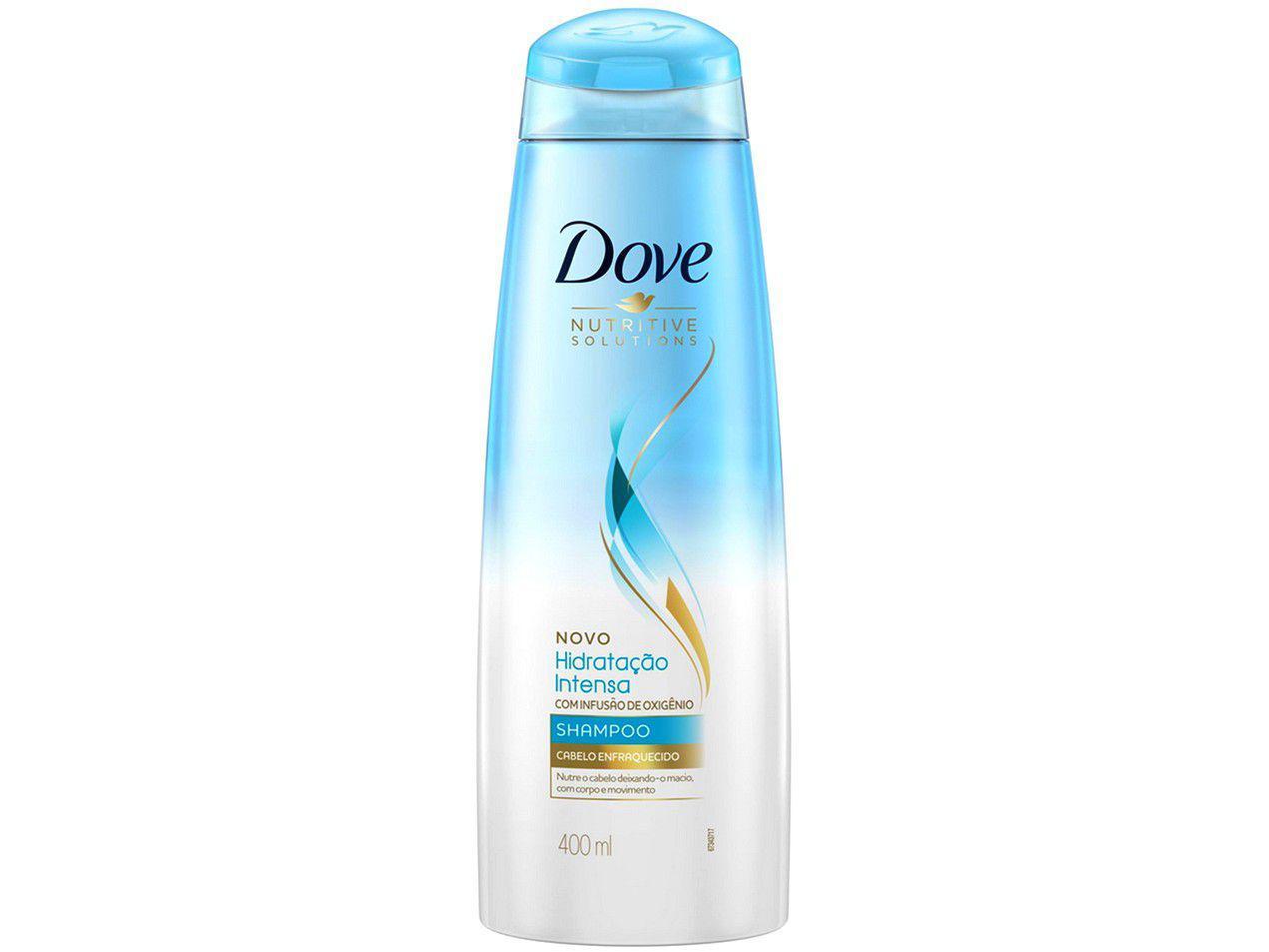 Shampoo Dove Hidratação Intensa - com Infusão de Ixigênio 400ml