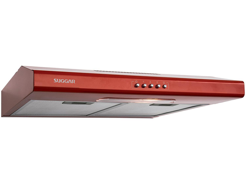Depurador de Ar Suggar 60cm 4 Bocas Slim DI61VM - 3 Velocidades