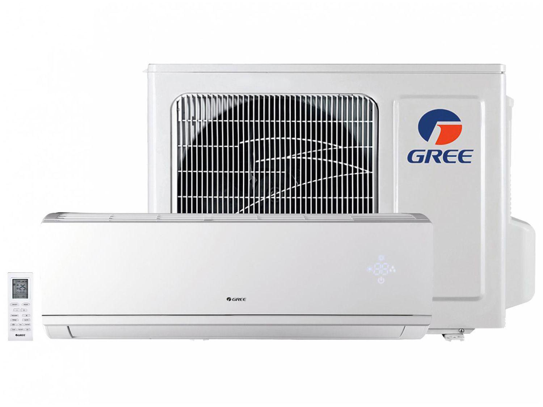 Ar-condicionado Split Gree Inverter 9.000 BTUs - Quente e Frio Hi-wall Eco Garden GWH09QAD3DNB8MI