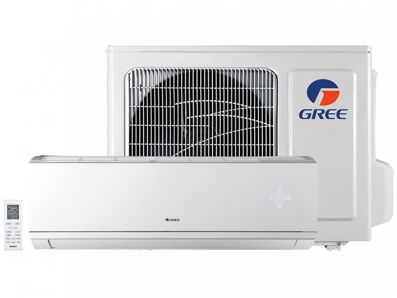 Ar-condicionado Split Gree Inverter 24.000 BTUs - Quente e Frio Eco Garden GWH24QED3DNB8MI
