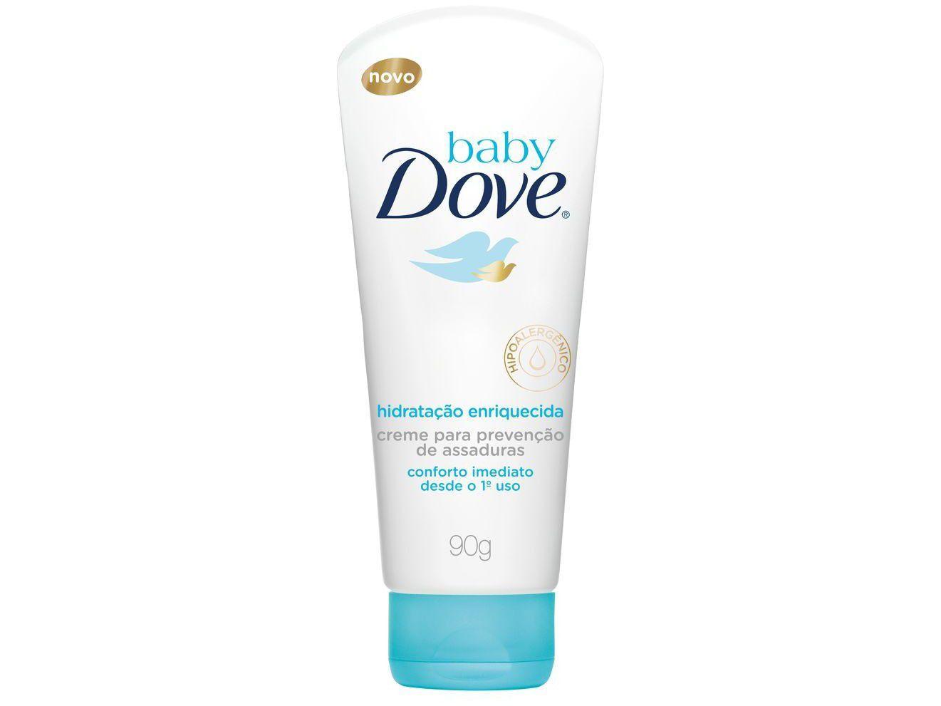 Creme para Prevenção de Assaduras Baby Dove - Hidratação Enriquecida 90g