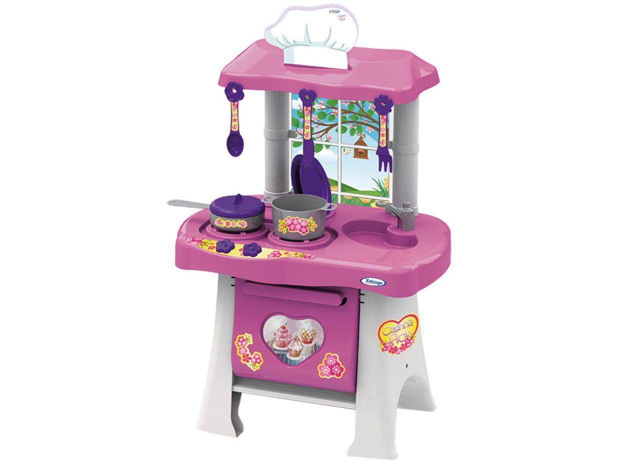 Cozinha Infantil Pop Flor - Xalingo