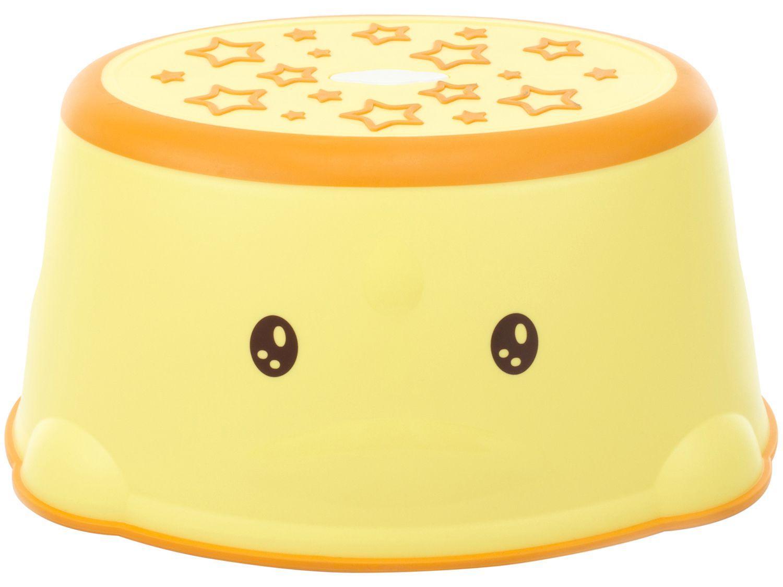 Degrau Infantil Antiderrapante Safety 1st - IMP01370 Amarelo e Laranja