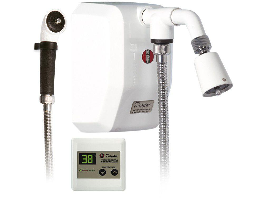 Ducha Digital KDT Inteligente 8800W - Multitemperatura Branco
