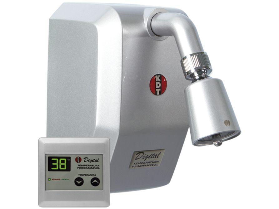 Ducha Digital KDT Inteligente 2277 8800W - Multitemperatura Prata