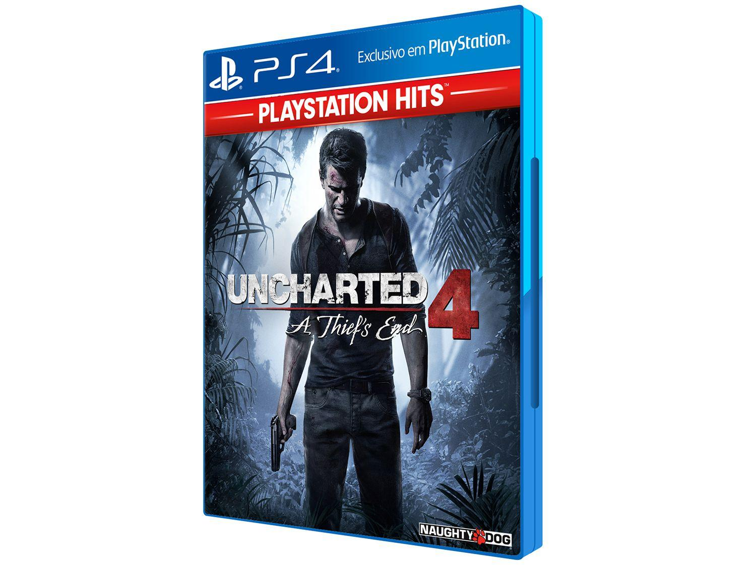 Uncharted 4: A Thief?s End para PS4 - Naughty Dog