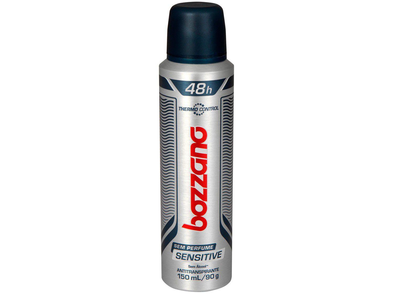 Desodorante Bozzano Thermo Control Sensitive - Aerossol Antitranspirante Masculino 90g
