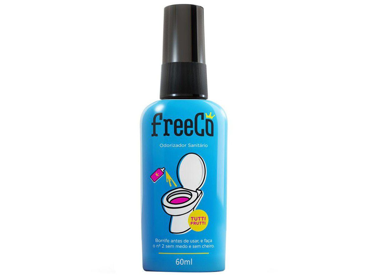 Desodorizador Sanitário Líquido FreeCô - Tutti Frutti 60ml