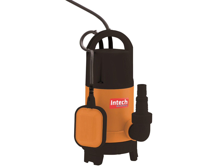 Bomba de Água Elétrica Submersa Intech Machine - 400W 150L/Hora BSS500