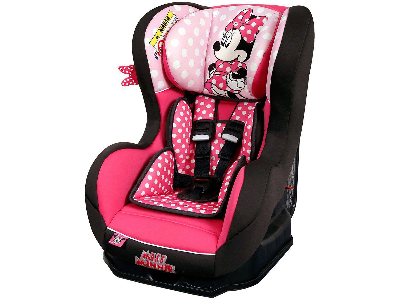 Cadeira para Auto Reclinável Disney 4 Posições - Primo Miss Minnie para Crianças até 25kg