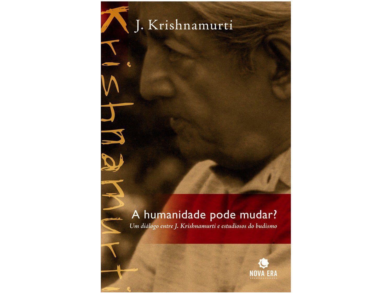 Livro A Humanidade pode Mudar? - J. Krishnamurti