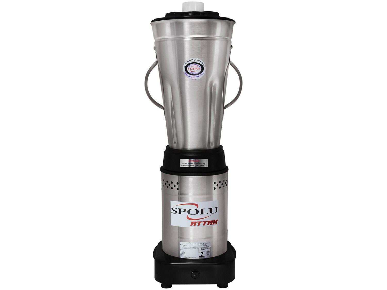 Liquidificador Industrial 6 Litros Spolu Attak - Baixa Rotação 700W