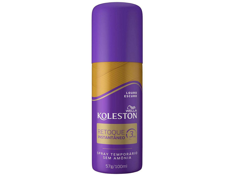Spray Retoque de Raiz Koleston Louro Escuro - 100ml