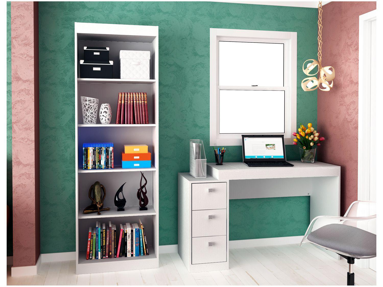Conjunto Escritório Hecol Móveis - Home Office HO-2955 2 Peças