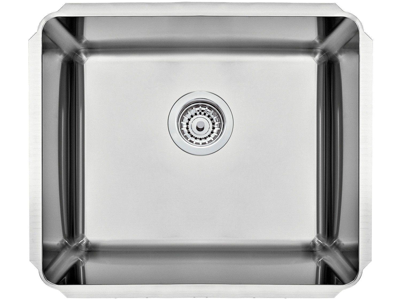 Cuba de Embutir para Cozinha Tramontina Inox - Quadrada 50x40cm Dritta
