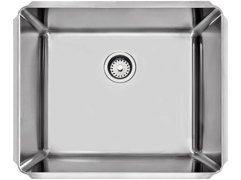Cuba de Embutir para Cozinha Tramontina Inox - Quadrada 60x50cm Dritta