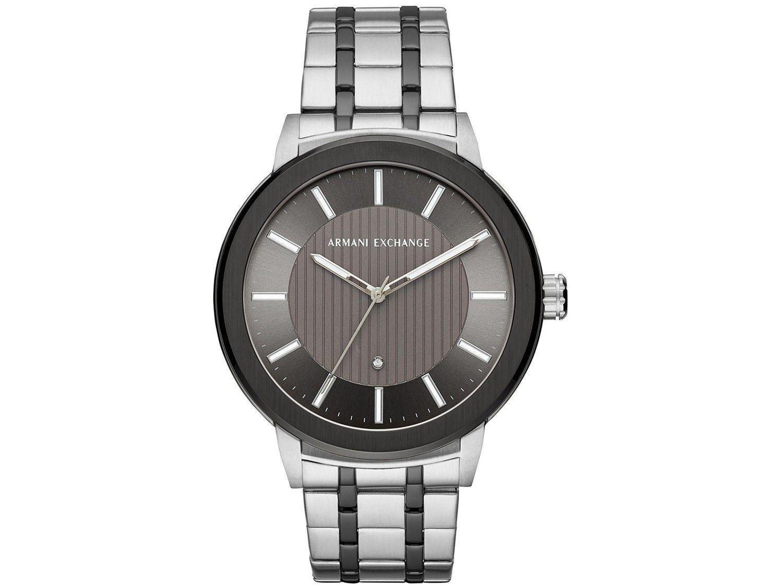Relógio Masculino Armani Exchange Analógico - Maddox AX1464/1KN Prata