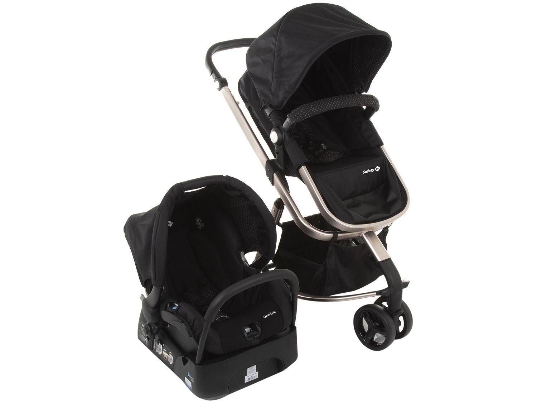 Carrinho de Bebê com Bebê Conforto Safety 1st - TS Mobi para Crianças até 15kg