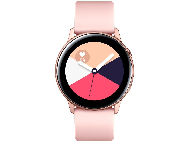 Smartwatch Samsung Watch Active Galaxy - Rosê 40mm 4GB