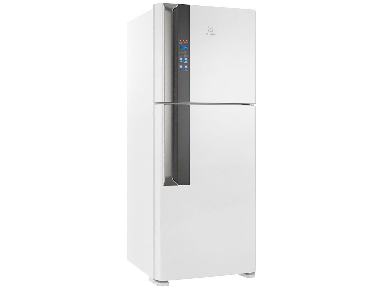 Geladeira/Refrigerador Electrolux Frost Free - Inverter Duplex Branca 431L IF55 Top Freezer