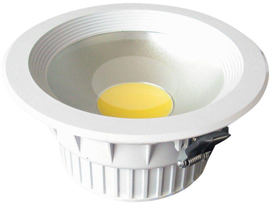 Spot de LED de Embutir Redondo Branco Taschibra - TSL 120
