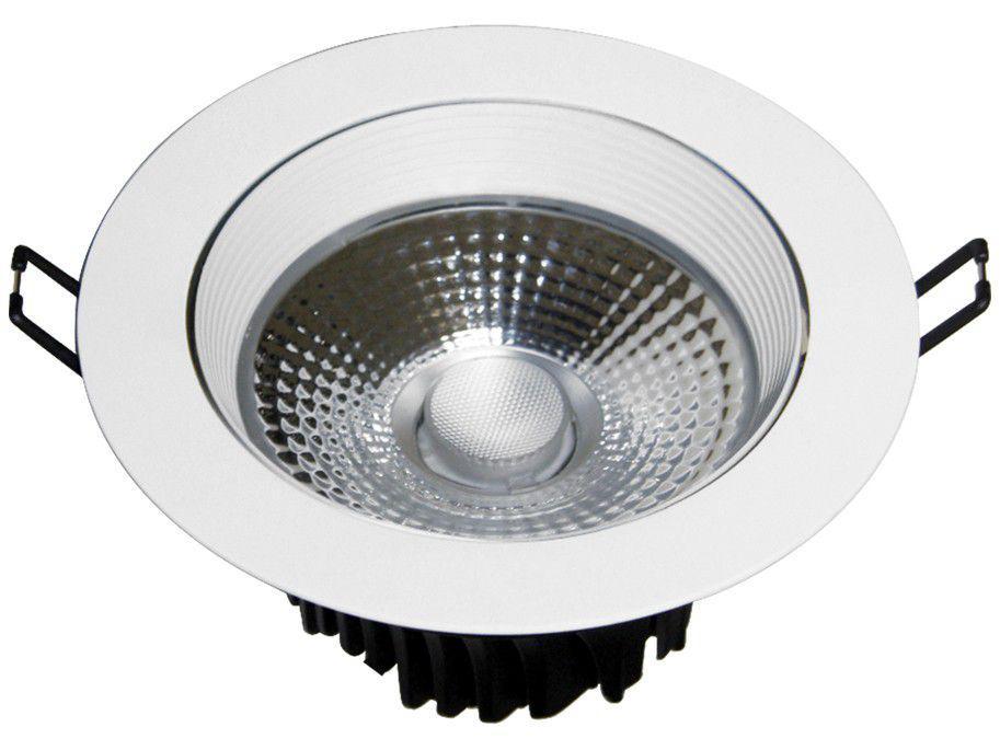 Spot de LED de Embutir Redondo Branco Taschibra - TSL 314