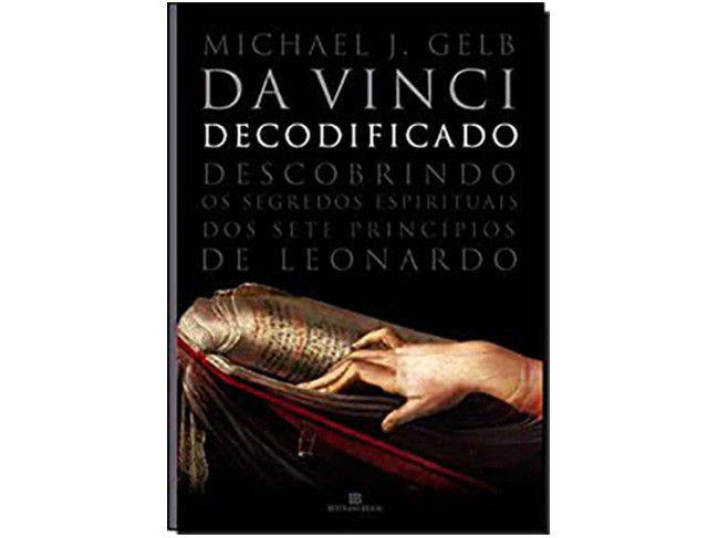 Livro Da Vinci Decodificado - Michael J. Gelb