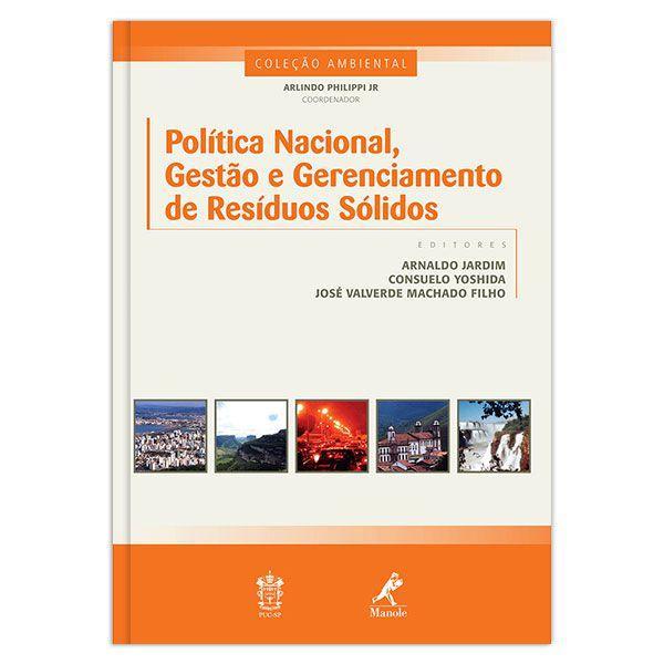Política nacional, gestão e gerenciamento de resíd