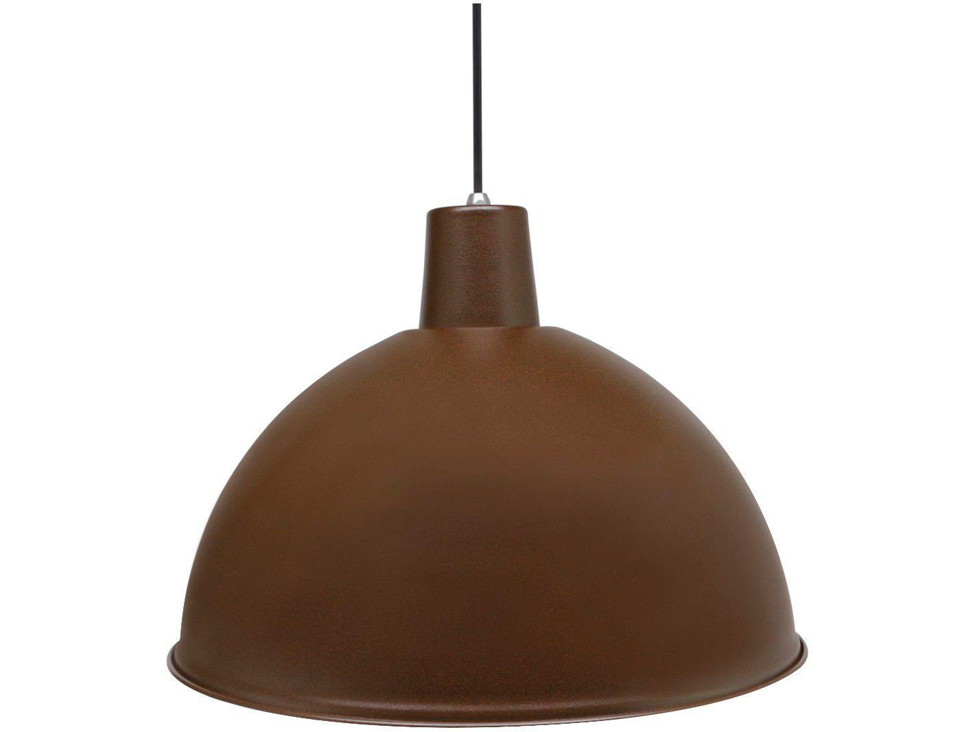 Pendente para Sala Marrom Blend - LED Taschibra Design TD 822