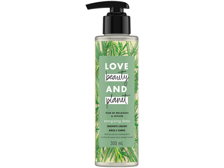 Sabonete Líquido Love Beauty and Planet - Energizing Detox Óleo de Melaleuca & Vetiver 3