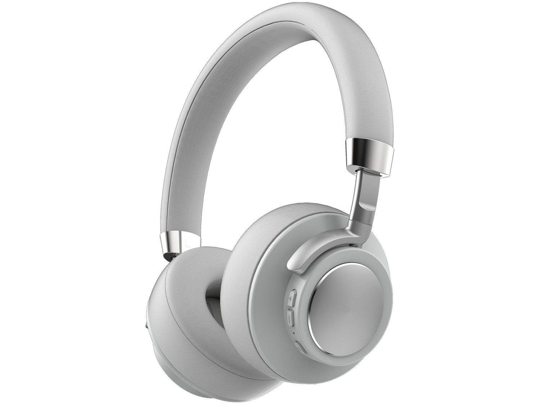 Fone de Ouvido Bluetooth Geonav Aer Aerfluid - com Microfone Cinza Escuro