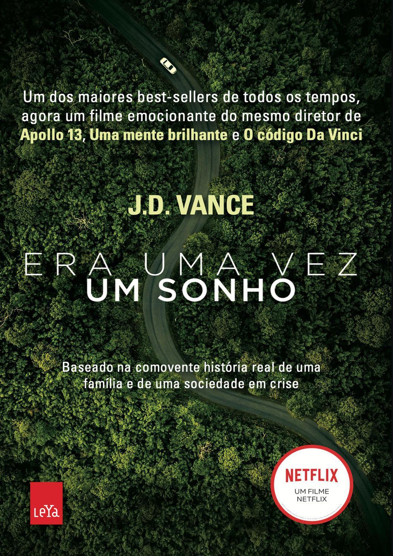 Livro Era Uma Vez Um Sonho - J.D. Vance