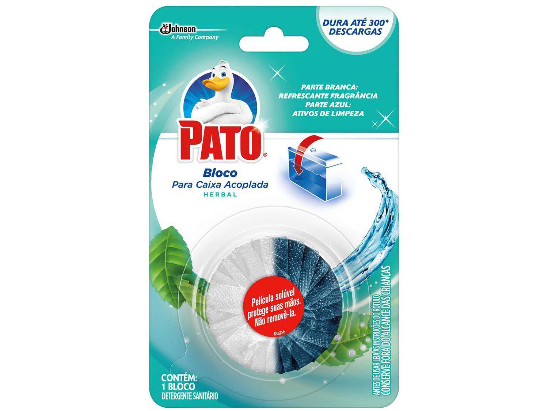 Desodorizador Sanitário Bloco Pato - Herbal 47g