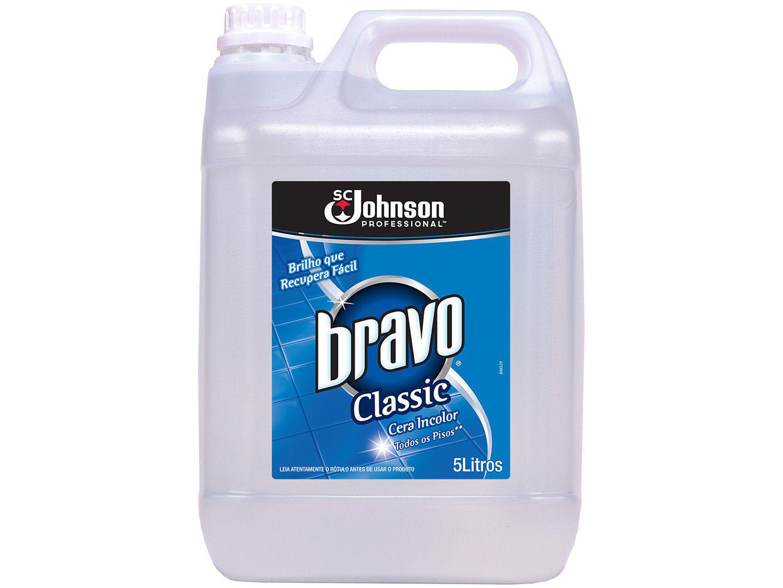 Cera Líquida Bravo Brilho Classic - 5L