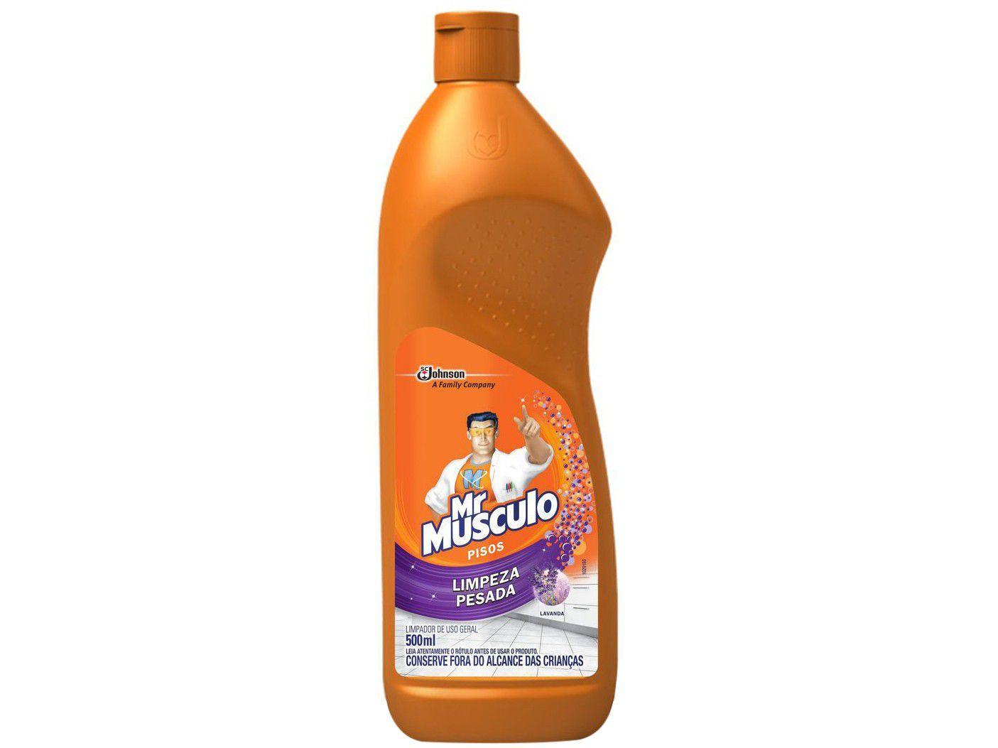 Limpador para Piso Mr Músculo Limpeza Pesada - 500ml