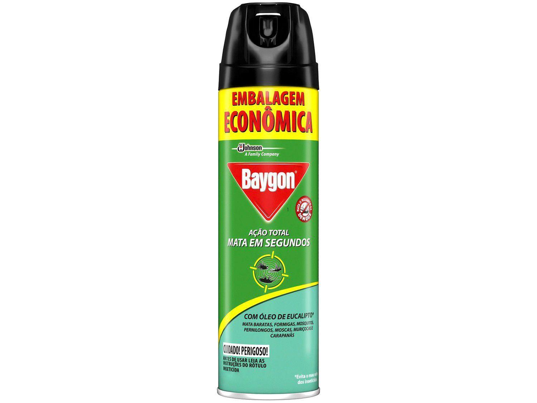 Inseticida Baygon Aerossol Ação Total - 360ml