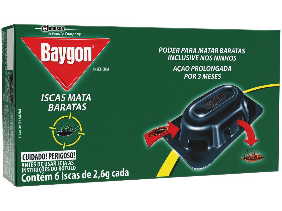 Inseticida Baygon - Iscas Mata Baratas