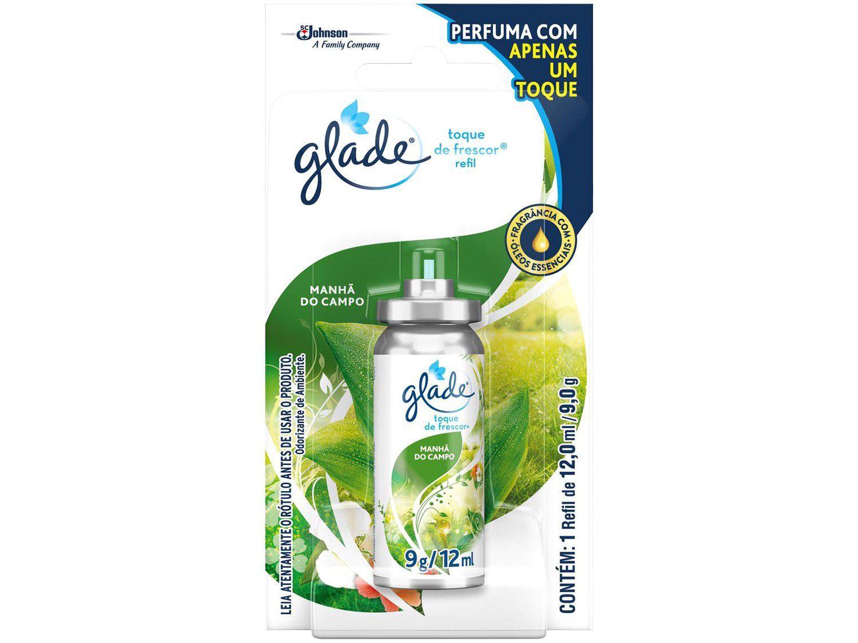 Odorizador de Banheiro Spray Glade - Toque de Frescor Manhã do Campo Refil 12ml
