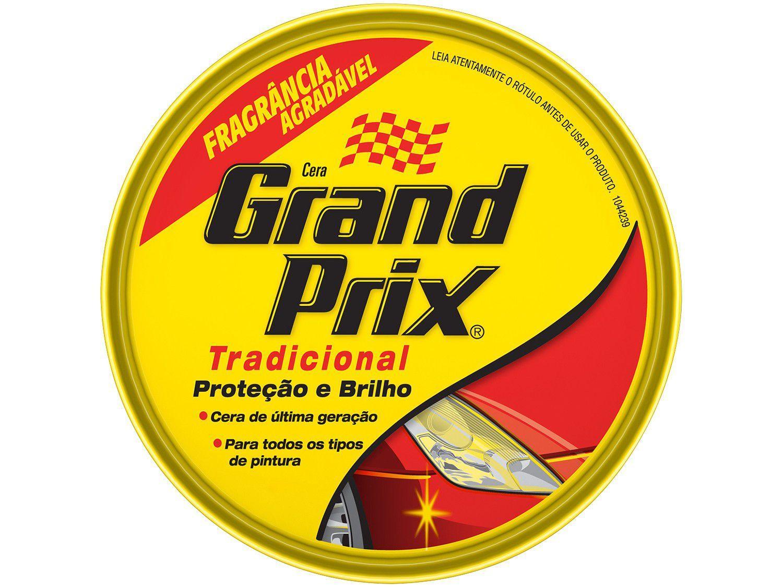 Cera Automotiva em Pasta Grand Prix - Proteção e Brilho Tradicional 200g