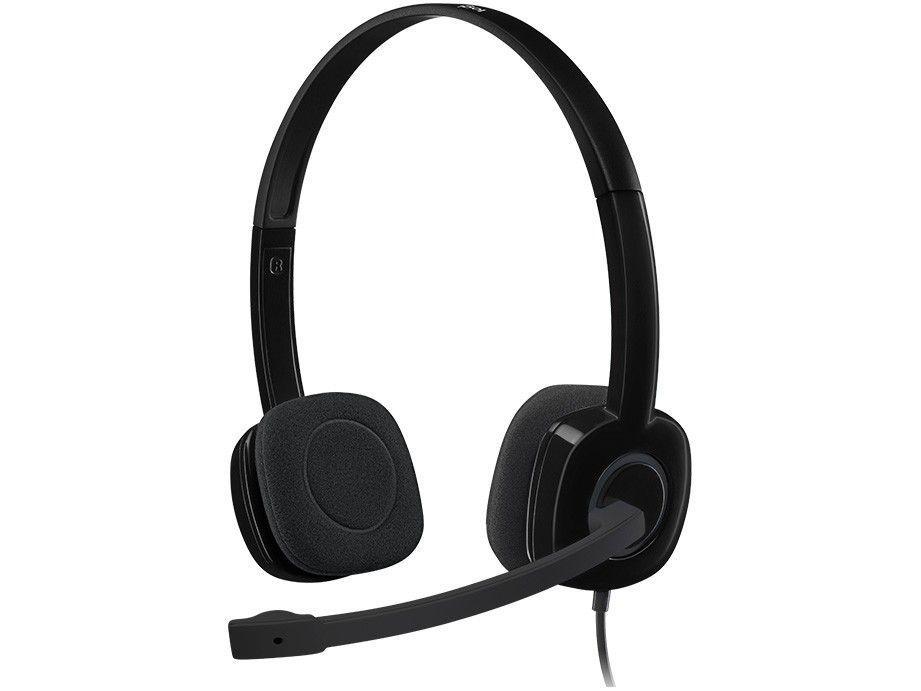 Headset Logitech H151 Preto